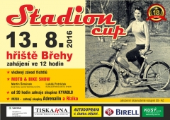Stadion cup Břehy 2016
